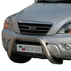 Stainless Steel Front Protection Bull Bar 76mm Kia Sorento Mk2 (2006 - 2009)