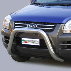 Stainless Steel Front Protection Bull Bar 76mm Kia Sportage Mk3 (2005 - 2008)
