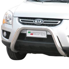 Stainless Steel Front Protection Bull Bar 76mm Kia Sportage Mk4 (2008 - 2010)