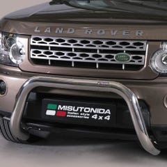 Stainless Steel Front Protection Bull Bar 76mm Land Rover Discovery 4 (2009 Onwards)