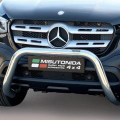 Stainless Steel Front Protection Bull Bar 76mm Mercedes X Class (2018 - 2021)