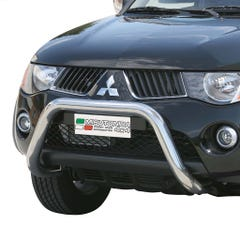 Stainless Steel Front Protection Bull Bar 76mm Mitsubishi L200 Mk6 (2006 - 2009)
