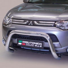 Stainless Steel Front Protection Bull Bar 76mm Mitsubishi Outlander Mk5 (2012 - 2015)