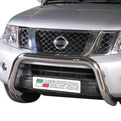 Stainless Steel EU Front Bar, 76mm for Nissan D40/Navara and Nissan Pathfinder
