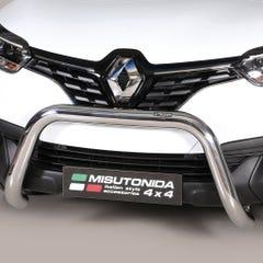 Stainless Steel Front Protection Bull Bar 76mm Renault Kadjar Mk1 (2015 Onwards)