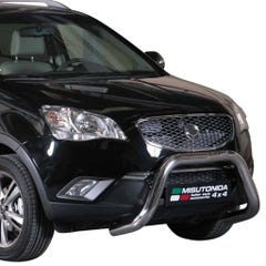 Stainless Steel Front Protection Bull Bar 76mm SsangYong Korando Mk2 (2011 Onwards)