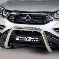 Stainless Steel Front Protection Bull Bar 76mm SsangYong Musso Mk3 (2018 Onwards)