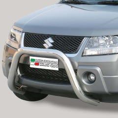 Stainless Steel Front Protection Bull Bar 76mm Suzuki Grand Vitrara Mk3 (2005 - 2009)