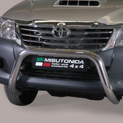 Stainless Steel Front Protection Bull Bar 76mm Toyota Hilux Mk7 (2011 - 2016)