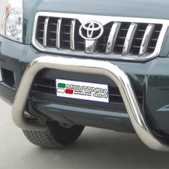 Stainless Steel Front Protection Bull Bar 76mm Toyota Landcruiser LC3-5/LC120