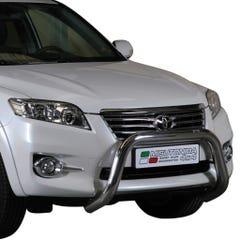 Stainless Steel Front Protection Bull Bar 76mm Toyota Rav4 Mk6 (2010 - 2013)