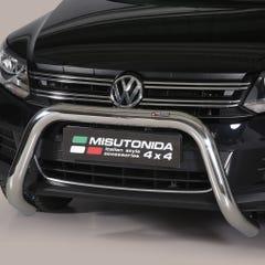 Stainless Steel Front Protection Bull Bar 76mm Volkswagen Amarok Mk1 (2011 - 2015)
