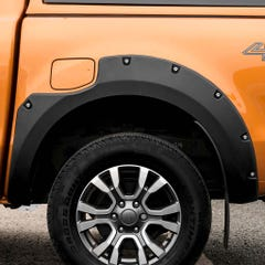 Wheel Arch Extension Kit Matt Black Bolt On Look Ford Ranger Mk7 (19 on) DC