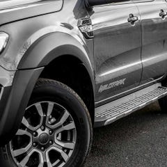 Wheel Arch Extension Kit Matt Black for Ford Ranger Mk6 (16-19) DC