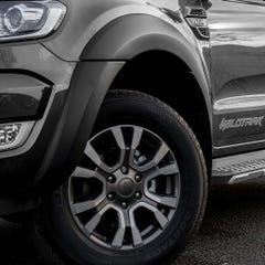 Wheel Arch Extension Kit Matt Black Ford Ranger Mk7 (19 on) DC