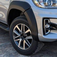 Wheel Arch Extension Kit Matt Black Toyota Hilux Mk8 (19-20) Double Cab