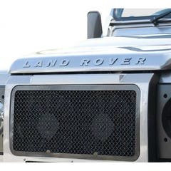 Front Upper Grille Black Landrover Defender (83 on) (1 Pcs.)