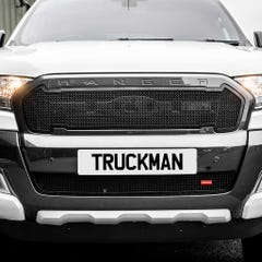 Front Lower Grille Black (1 Pcs.) Ford Ranger Mk6 (15-19)