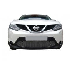 Lower Grille Silver Without Parking Sensors Nissan Qashqai Mk3 (13 on)
