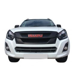 Front Upper, Lower & Centre Grille Set Black Isuzu D-Max Mk4 (15 - 20) (3 Pcs.)