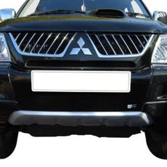 Front Upper & Lower Grille Set Black Mitsubishi L200 (16 on) (2 Pcs.)