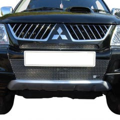 Front Upper & Lower Grille Set Silver Mitsubishi L200 (16 on) (2 Pcs.)