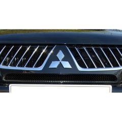 Front Upper Grille Set Black Mitsubishi L200 Mk8 (15 On)