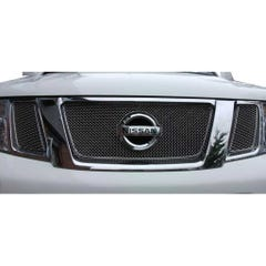 Front Upper Grille Black Nissan Navara D40 Mk2 (13 on) (1 Pcs.)