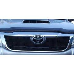 Front Upper Grille Black Toyota Hilux Mk8 (1 Pcs.)