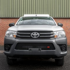Front Lower Side Grille Set Black Toyota Hilux Mk8 (2 Pcs.)