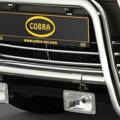 Cobra Front Bumper Grille Stainless for Mitsubishi ASX Mk1