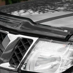 Bonnet Guard Chip & Bug Protector Dark Smoke Navara D40 / Pathfinder (10-15)