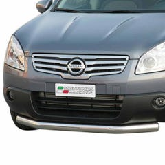 Front Spoiler Protection 76mm Stainless Mach Qashqai+2 (08 on) PA/229/IX