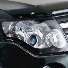 Headlamp Protectors Clear for Isuzu D-Max Mk1 (03-05)