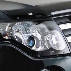 Headlamp Protectors Clear for Mitsubishi Shogun Mk4 (Not Import) (97-00)