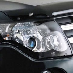 Headlamp Protectors Clear Navara for Nissan D22 Mk2 (02 on)