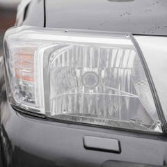 Headlamp Protectors Clear LED for Toyota Hilux Mk8 (16-20)