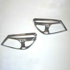 Chrome Head Light Bezels Ranger Mk4 (09-12)