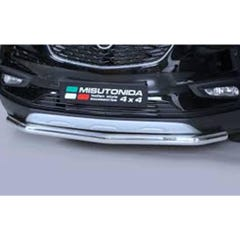 Front Spoiler Protector 76mm Stainless Mach for Relay (2006 on)