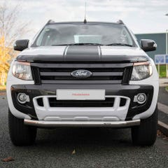Front Spoiler Protector Stainless Mach for Ford Ranger Mk5 (12 on)