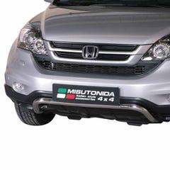 Front Spoiler Protector Stainless Mach for Honda CRV Mk5 (10-12)