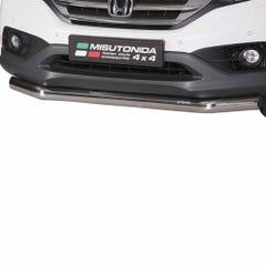Front Spoiler Protector Stainless Mach for Honda CRV Mk6 (13 on)