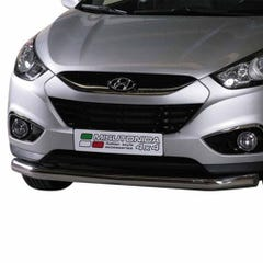Front Spoiler Protector Stainless Mach for Hyundai IX35 Mk1 (10 on)