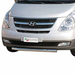 Front Spoiler Protector Stainless Mach for Hyundai H1 (08 on)