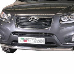 Front Spoiler Protector Stainless Mach Santa Fe Mk3 (10-12) SLF/273/IX