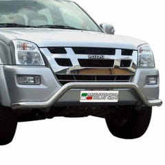 Front Spoiler Protector Stainless Mach for Isuzu Rodeo Mk1 (03-07)
