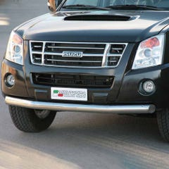 Front Spoiler Protector Stainless Mach for Isuzu D-Max Mk3 (07-12)