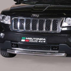 Front Spoiler Protector Stainless Mach for Jeep Grand Cherokee Mk6 (11-14)