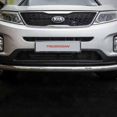 Front Spoiler Protector Stainless Mach for Sorento Mk4 (12 on)