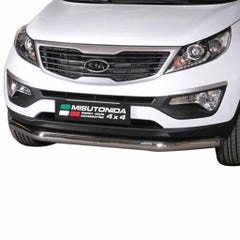 Front Spoiler Protector Stainless Mach Sportage Mk5 (10 on) SLF/275/IX